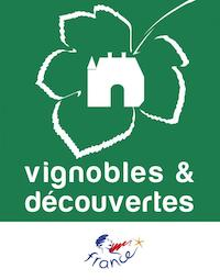 logo du label vignobles et découvertes