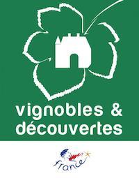 logo du label vignobles et découvertes