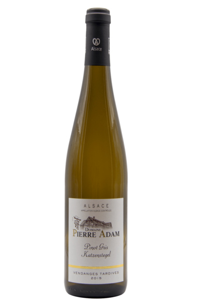 Pinot Gris Katzenstegel Vendanges Tardives 2015