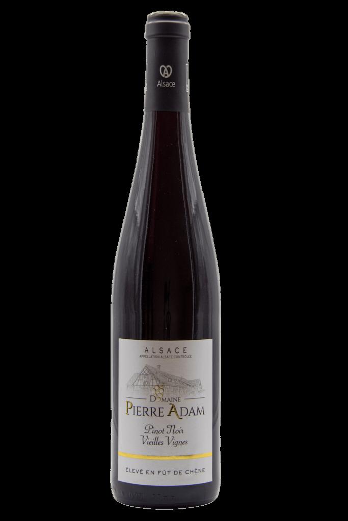 Bouteille de Pinot Noir élevé en fût de chêne 75 cL
