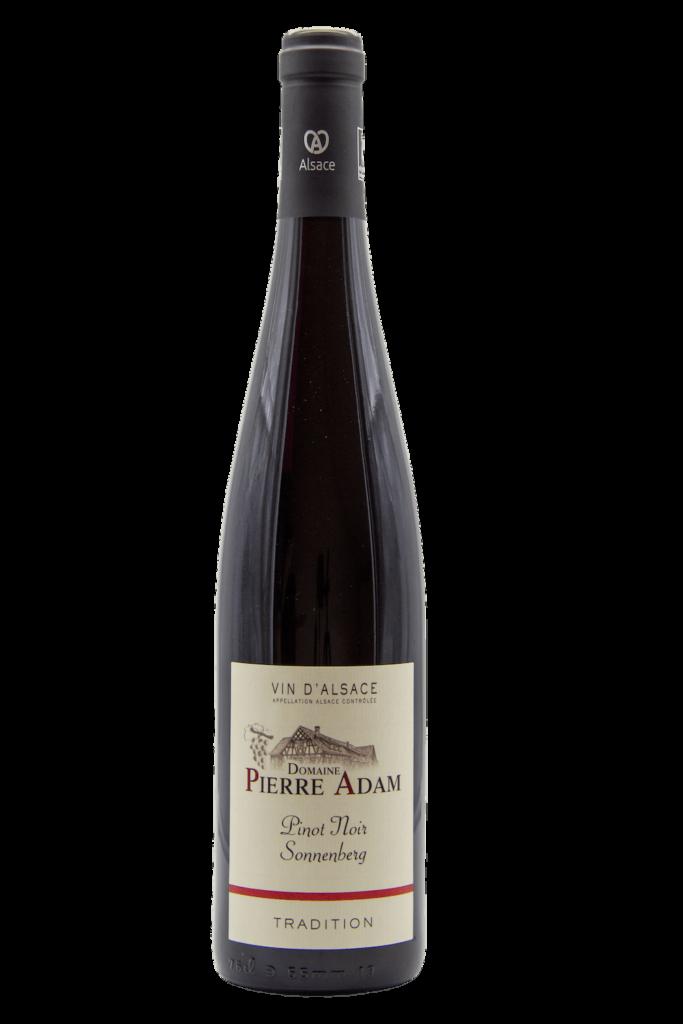 Bouteille de Pinot Noir tradition 75 cL