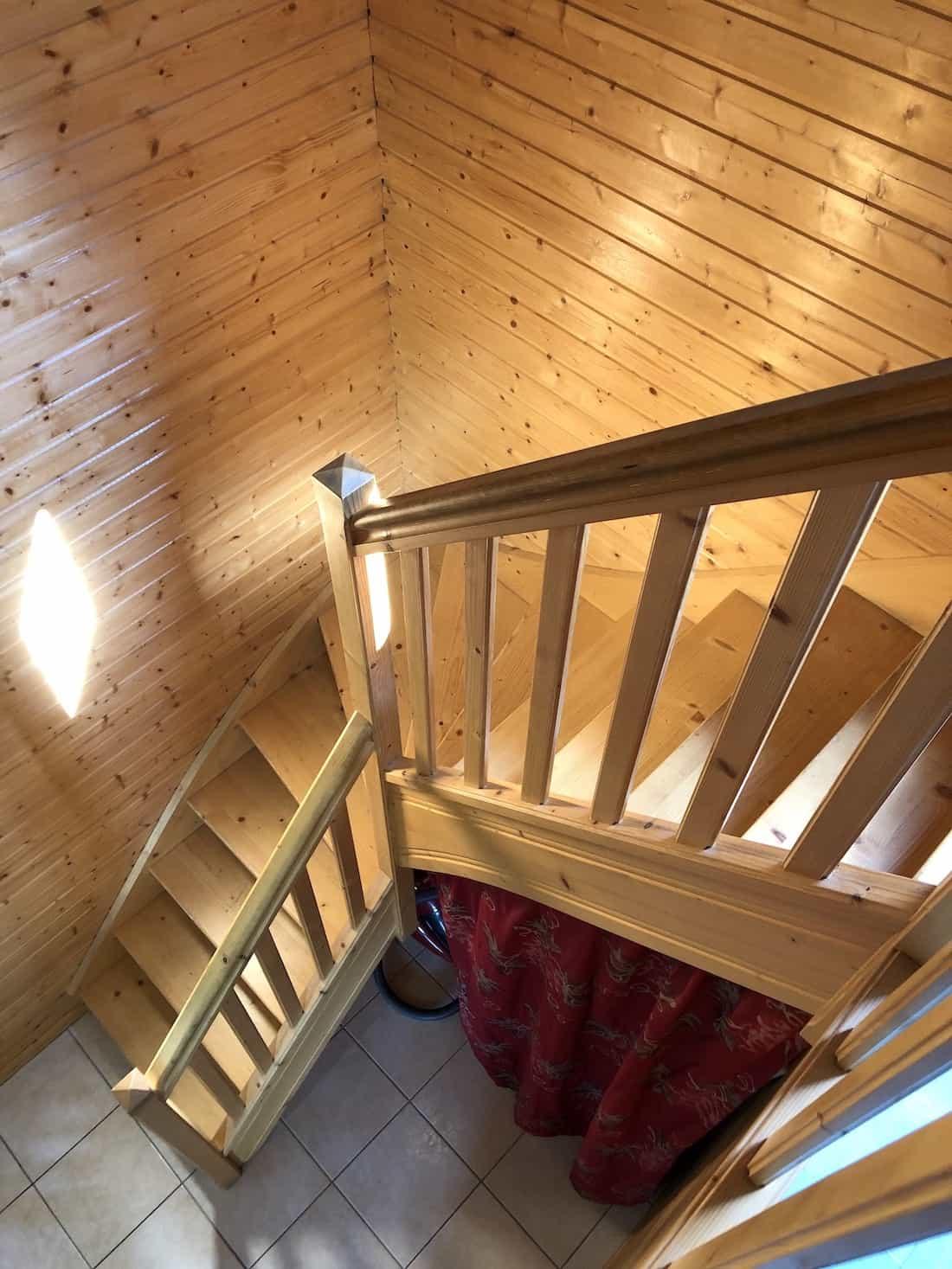 Escalier Chalet Freland